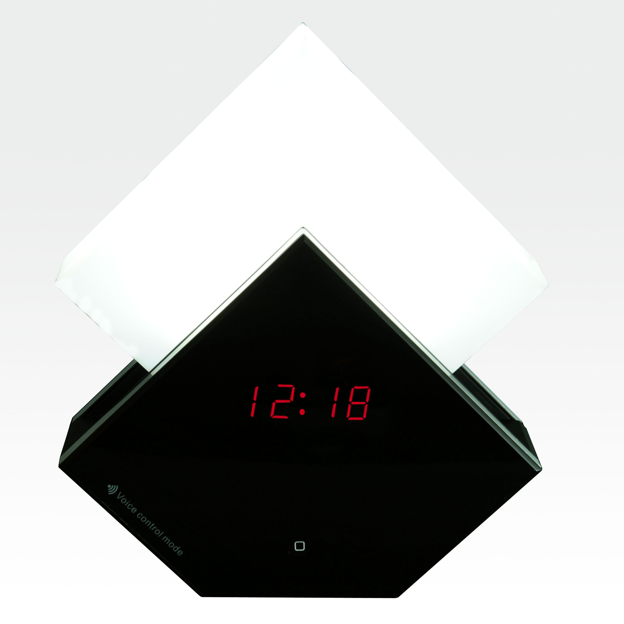 precorn onlineshop multicolor touch led lampe nachttischlampe wecker schlummer dimm licht. Black Bedroom Furniture Sets. Home Design Ideas