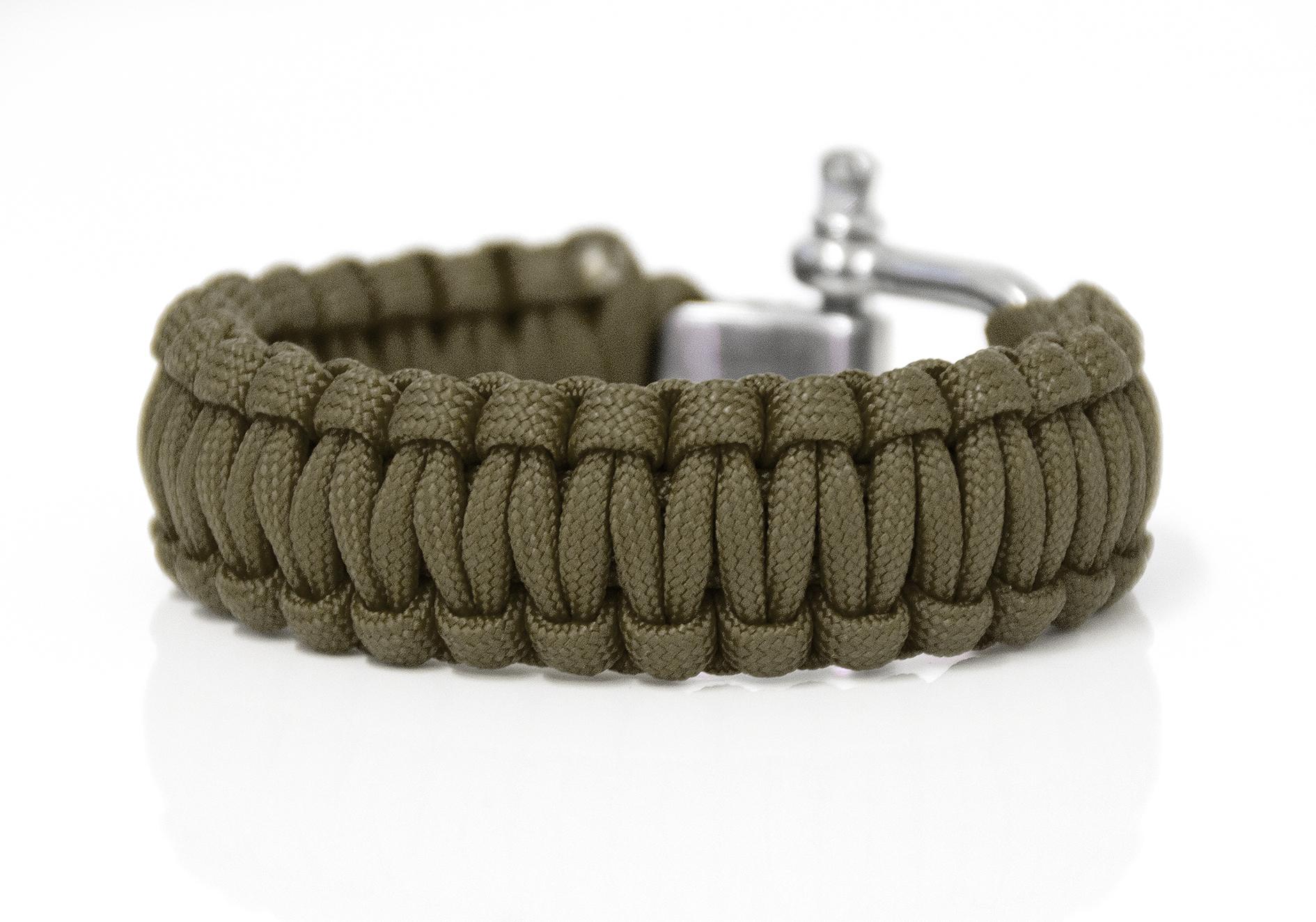 Häufig PARACORD Armband Ambänder flechten Camping Seil Flechtmaterial BS58
